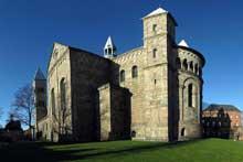 Viborg: la cathédrale. Chevet et transept