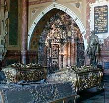 Chapelle funéraire de ChristianIV (roi du Danemark et de Norvège, 1588-1648)  à Roskilde