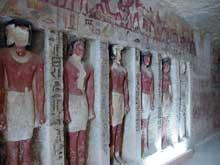Saqqara. Le mastaba d'Iroukaptah. (Site Egypte antique)