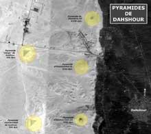 Dahshour: le groupe des pyramides. (Site Egypte antique)