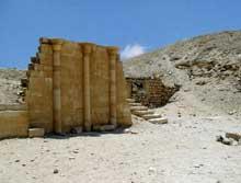 Saqqara: l'ensemble funéraire de Djoser. La maison du Nord. (Site Egypte antique)