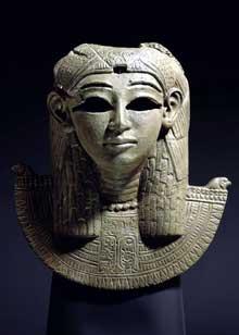 Sphinx de Taharqa du templeT à Kawa, Soudan. XXVè dynastie, vers 680. British Museum. (Histoire de l'Egypte ancienne)