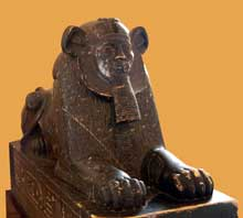 Amenemhat III en Sphinx. Musée du Caire. (Site Egypte antique)