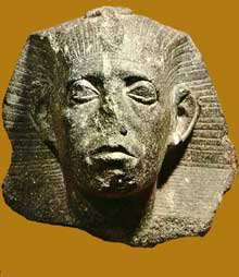 Tête de Sésostris III. (Site Egypte antique)