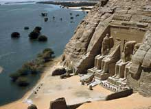 Abou Simbel : le grand temple de Ramsès II. (Site Egypte antique)