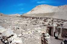Deir el-Médineh: le village des ouvriers-artisans de la vallée des rois. (Site Egypte antique)