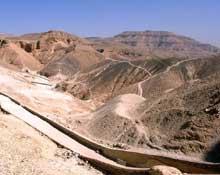 Thèbes – Louxor: la vallée des Rois. (Site Egypte antique)