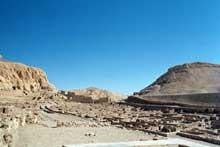 Thèbes – Louxor: la vallée des Nobles. (Site Egypte antique)