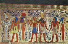 Abydos, temple funéraire de Séti I. XIXè dynastie (1295-1186). (Site Egypte antique)