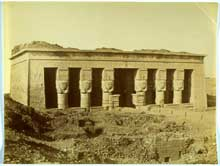 Dendérah : le temple d'Hator. (Site Egypte antique)
