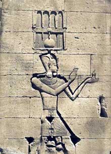 Kalabsha: le temple de Mandoulis: Ptolémée Césarion. (Site Egypte antique)