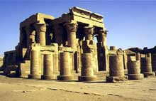 Kom Ombo: temple de Haroéris (Horus le Grand) et Sobek. (Histoire de l'Egypte ancienne)