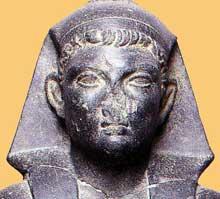 PtoléméeXV «Césarion». Musée du Caire. (Histoire de l'Egypte ancienne)