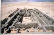 Abydos: tombe de l'Horus Qa'a. Ière dynastie. (Site Egypte antique)