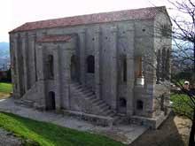 Santa Maria del Naranco. Façade nord. Vers 845