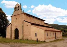 Eglise de San Salvador Priesca. Vue générale
