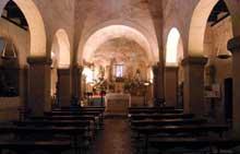 Eglise de San Salvador Priesca. La nef