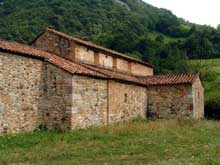 San Andriano du Tuñon: l'église