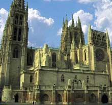 Burgos: la cathédrale Santa Maria