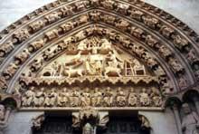 Burgos: la cathédrale Santa Maria. La «Porta del Sacramental