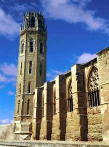 Lerida: la cathédrale «Seu vella