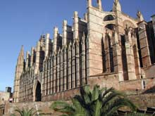 Palma de Majorque: la cathédrale