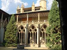 Pampelune, le cloître de la cathédrale