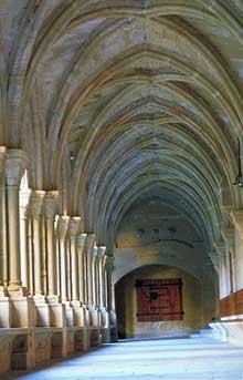 Poblet, l'abbaye. L'abbaye