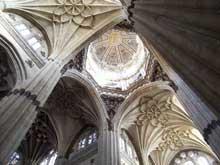 Salamanque, la cathédrale: la croisée