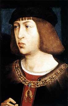 Juan de Flandres: Portrait de Philippe le Beau. 1496-1500. Huile sur bois, 36 x 26 cm. Vienne, Kunsthistorisches Museum