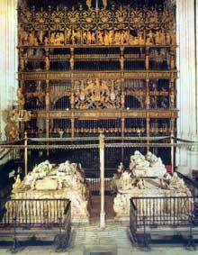 Enrique de Egas (1455-1534): Capilla Real (chapelle des rois) de la cathédrale de Grenade. 1502-1521. (Histoire de l'art - Quattrocento