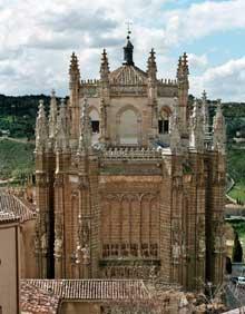 Juan Guas (1433-1496): monastère de San Juan de los Reyes, Tolède. (Histoire de l'art - Quattrocento