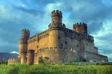 Juan Guas (1433-1496): château de Manzanares de Real. (Histoire de l'art - Quattrocento