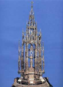 Enrique Arfe (1475-1545): custode de la cathédrale de Tolède. 1517. (Histoire de l'art - Quattrocento