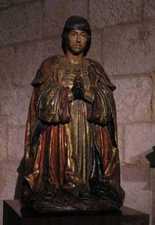 Ferdinand le catholique: statue de la «Capilla Real», la chapelle royale de la cathédrale de Grenade (1505-1512). (Histoire de l'art - Quattrocento
