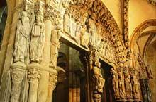 Saint Jacques de Compostelle: portique de la gloire
