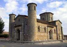 Fromista: église saint Martin. Vue générale