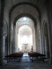 Fromista: église saint Martin. La nef centrale.