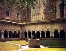 G�rone�: le clo�tre de la cath�drale, vers 1150