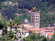 Ripoll�: le monast�re Santa Maria