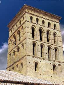 Sahagun: l'église San Lorenzo. La tour