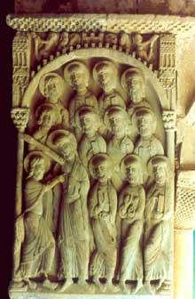 Santo Domingo de Silos: le doute de saint Thomas