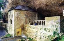 San Juan de la Peña en Aragon: le monastère. XIè
