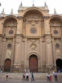 Alonso Cano: façade de la cathédrale de Grenade