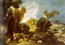 Francisco Collantes: le buisson ardent. Vers 1634. Huile sur toile, 116 x 163cm. Paris, Musée du Louvre