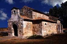 San Juan Bautista de Baños Cerrato (Province de Palencia). Vue extérieure