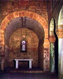 San Juan Bautista de Baños (Province de Palencia). L'abside