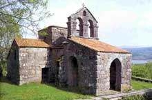Santa Comba de Bande, province d'Orense: l'église wisigothe
