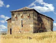 Santa Maria de Lara Quintanilla de la Viñas, près de Burgos: l'église wisigothe, début du VIIIè