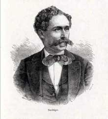 L'explorateur Gustav Nachtigal (1834-1885